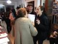 Hannah Lebenthal with Rachel Shmookler and fiance Gilor